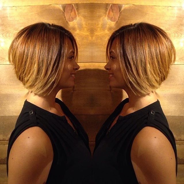 Top 21 Best Bob Hairstyles For Black Women – Pretty Designs Intended For Multi Tonal Golden Bob Blonde Hairstyles (View 16 of 25)