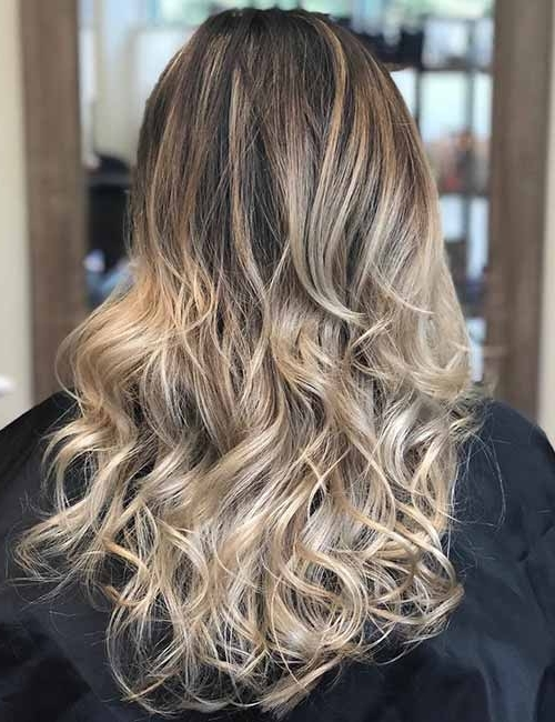 Top 25 Light Ash Blonde Highlights Hair Color Ideas For Blonde And In Brunette Hairstyles With Dirty Blonde Ends (View 8 of 25)
