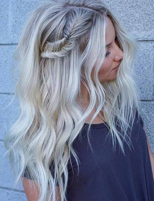 Top 25 Light Ash Blonde Highlights Hair Color Ideas For Blonde And Regarding Contrasting Highlights Blonde Hairstyles (View 25 of 25)