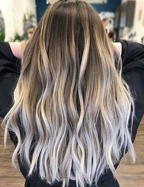 Top 25 Light Ash Blonde Highlights Hair Color Ideas For Blonde And Within Dark Blonde Hairstyles With Icy Streaks (View 25 of 25)