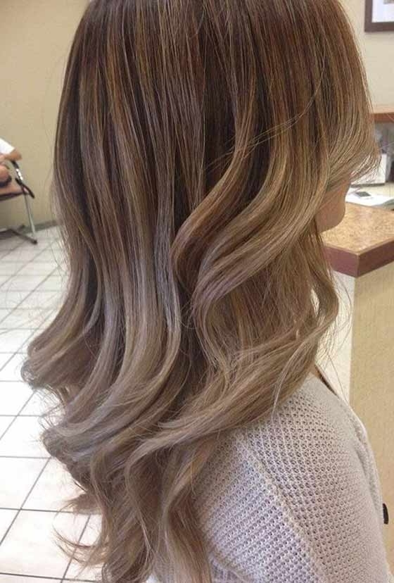 Top 30 Chocolate Brown Hair Color Ideas & Styles For 2018 Intended For Blonde Color Melt Hairstyles (View 18 of 25)