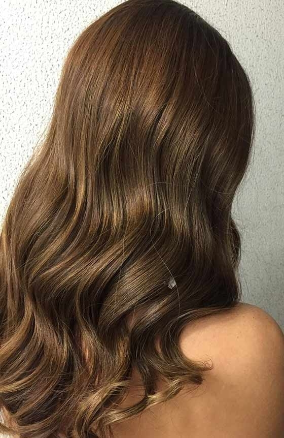 Top 30 Golden Brown Hair Color Ideas Within Golden Bronze Blonde Hairstyles (View 25 of 25)