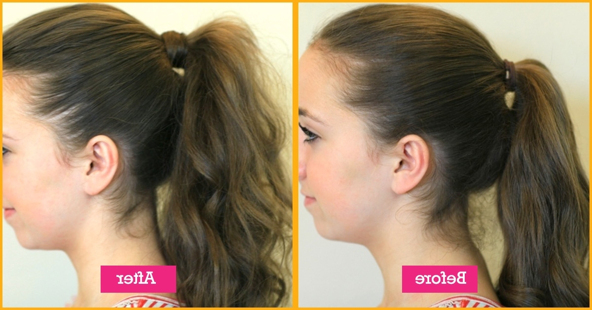 Top 30 Hairstyles To Cover Up Thin Hair Throughout Ponytail Hairstyles For Fine Hair (View 22 of 25)