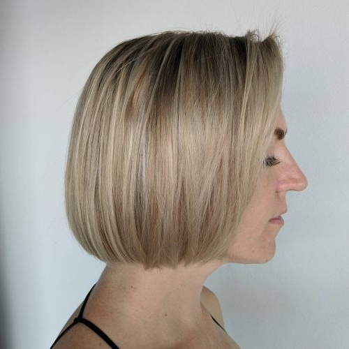 Top 36 Short Blonde Hair Ideas For A Chic Look In 2018 Inside Cream Colored Bob Blonde Hairstyles (View 7 of 25)