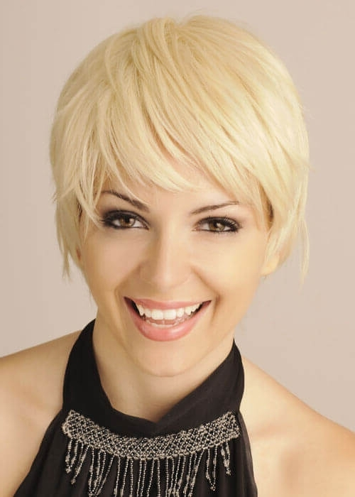 Top 36 Short Blonde Hair Ideas For A Chic Look In 2018 Inside Most Up To Date Finely Chopped Buttery Blonde Pixie Hairstyles (View 6 of 25)