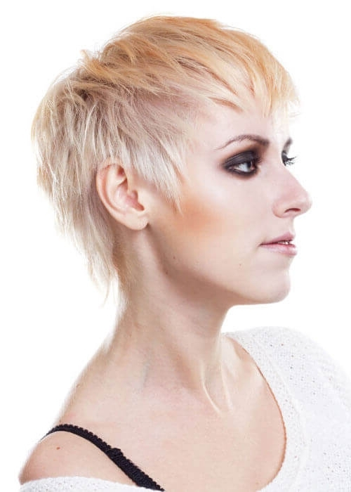 Top 36 Short Blonde Hair Ideas For A Chic Look In 2018 Pertaining To Most Current Bleach Blonde Pixie Hairstyles (View 14 of 25)