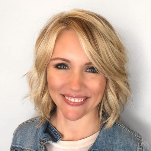 Top 36 Short Blonde Hair Ideas For A Chic Look In 2018 Regarding Classic Blonde Bob With A Modern Twist (View 25 of 25)