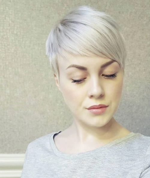 Top 36 Short Blonde Hair Ideas For A Chic Look In 2018 With Regard To Latest Bleach Blonde Pixie Hairstyles (View 17 of 25)