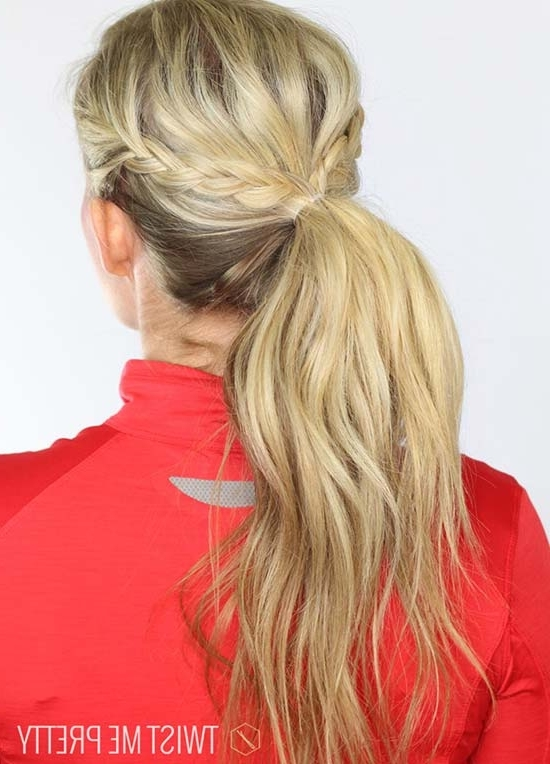 Top 40 Best Sporty Hairstyles For Workout | Fashionisers In Hot High Rebellious Ponytail Hairstyles (View 17 of 25)