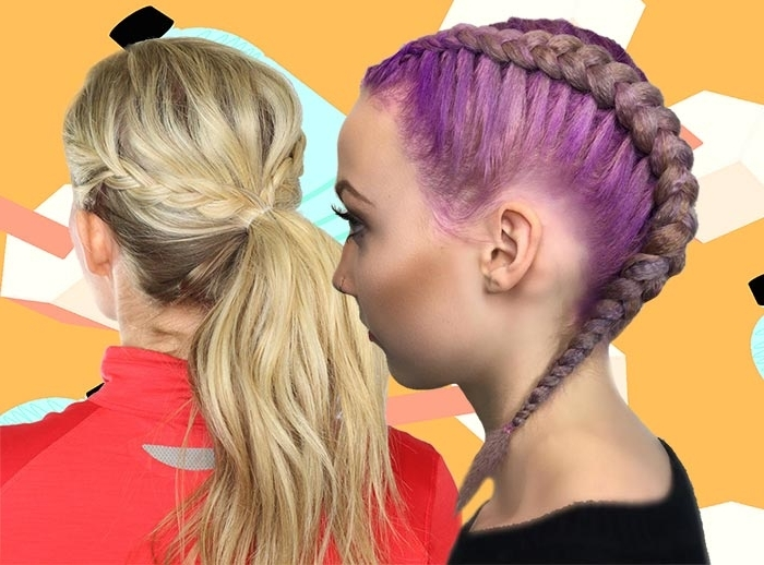 Top 40 Best Sporty Hairstyles For Workout | Fashionisers Intended For Hot High Rebellious Ponytail Hairstyles (View 20 of 25)