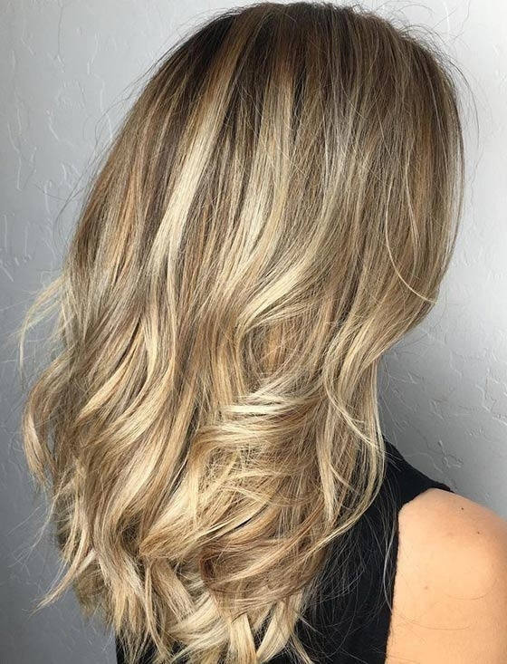 Top 40 Blonde Hair Color Ideas Inside Multi Tonal Mid Length Blonde Hairstyles (View 11 of 25)
