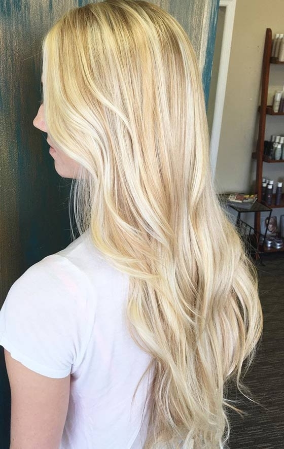 Top 40 Blonde Hair Color Ideas With Buttery Highlights Blonde Hairstyles (View 24 of 25)