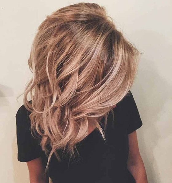 Top 40 Blonde Hair Color Ideas With Dark Dishwater Blonde Hairstyles (View 1 of 25)