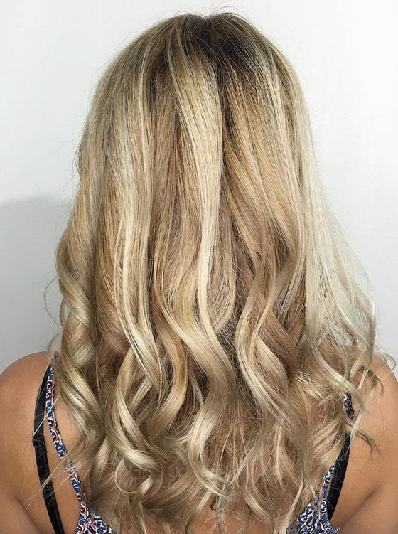 Top 40 Blonde Hair Color Ideas With Soft Flaxen Blonde Curls Hairstyles (View 12 of 25)