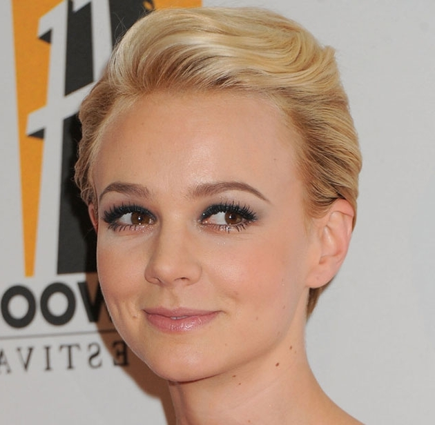 Top 70 Short Hairstyles For Women For Every Taste And Style Pertaining To Most Recently Platinum Blonde Disheveled Pixie Hairstyles (View 18 of 25)