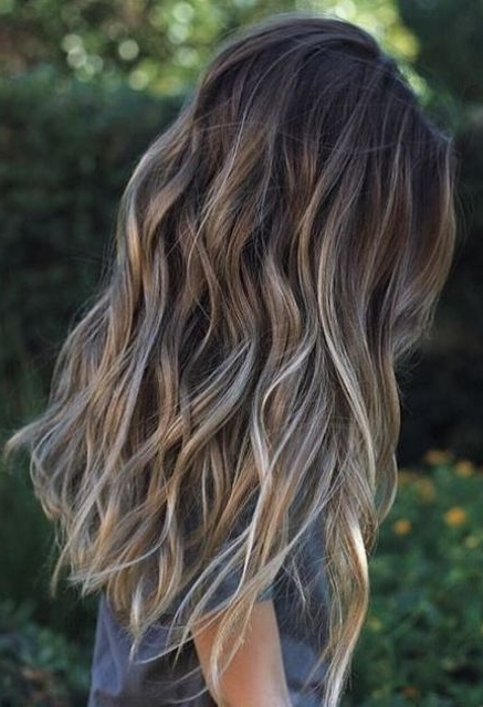 Top Balayage Hairstyles For Black Hair In Sunkissed Long Locks Blonde Hairstyles (View 14 of 25)