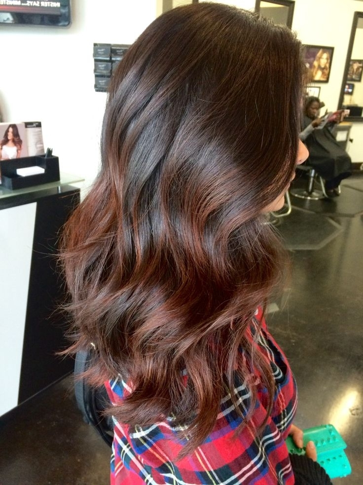 Top Balayage Hairstyles For Black Hair Inside Dirty Blonde Balayage Babylights Hairstyles (View 15 of 25)