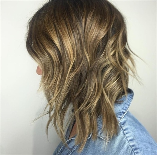 Trend Alert: What Is The Tiger Eye Hair Color Trend And Why Your For Tortoiseshell Curls Blonde Hairstyles (View 22 of 25)