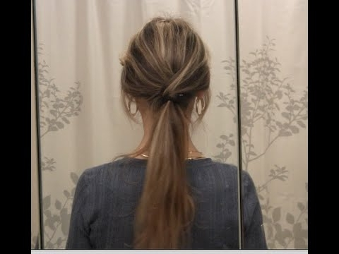 Trendy Low Ponytail Hairstyles Tutorial – Long Hair Styles – Youtube Throughout Messy Low Ponytail Hairstyles (View 19 of 25)