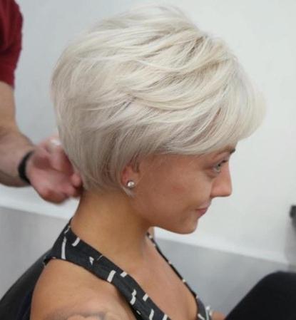 Trendy Women » Long Voluminous Pixie Pertaining To Most Recent Long Voluminous Pixie Hairstyles (View 22 of 25)