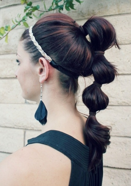 Triple Poof Ponytail – Ma Nouvelle Mode In Updo Ponytail Hairstyles With Poof (View 24 of 25)