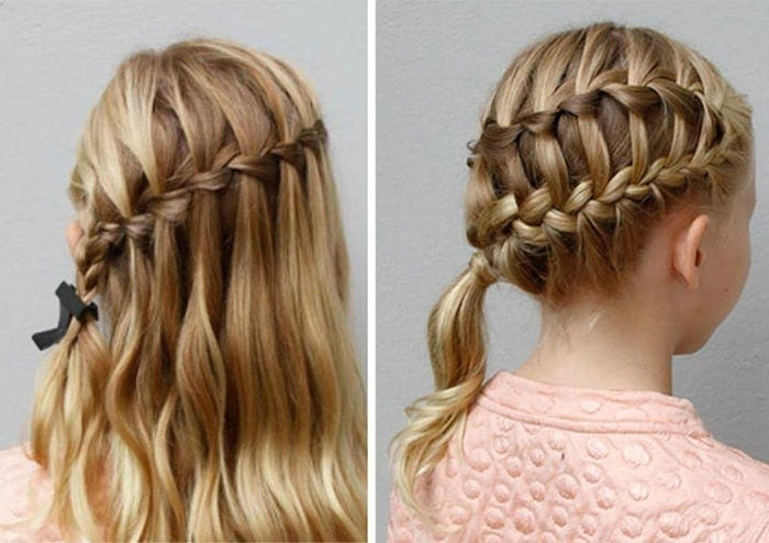 Try This Hairstyle – Diagonal Ladder Braid Into A Side Ponytail Throughout Ladder Braid Side Ponytail Hairstyles (View 4 of 25)