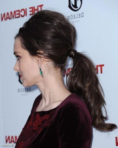 Tutorial: Get Winona Ryder's Retro Bouffant Ponytail Hairstyle Inside Bouffant Ponytail Hairstyles (View 22 of 25)