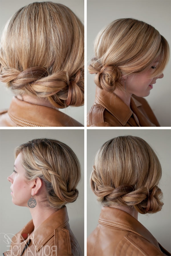 Twist Side Braid – Romantic Side Braided Updo For Wedding For Romantic Twisted Hairdo Hairstyles (View 6 of 25)
