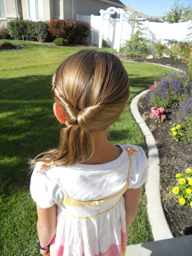 Twistback Flip Under: Take A Regular Ponytail To The Next Level With Pertaining To Dyed Simple Ponytail Hairstyles For Second Day Hair (View 18 of 25)