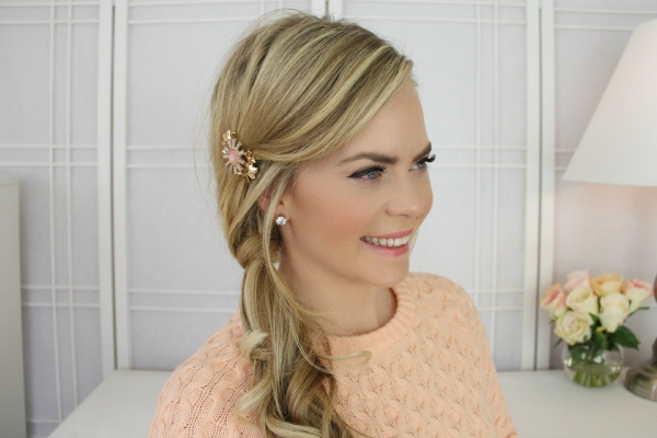 Twisted Side Ponytail In Twisted Side Ponytail Hairstyles (View 14 of 25)