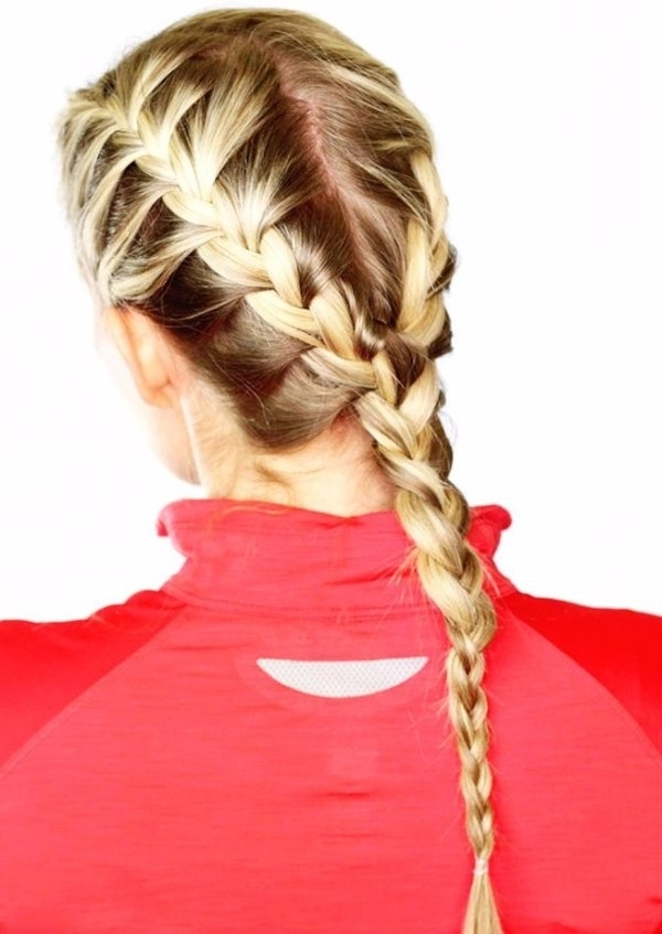 Two Braids Into One Braid – 21 Hairstyles To Use When… With Two Braids In One Hairstyles (View 4 of 25)