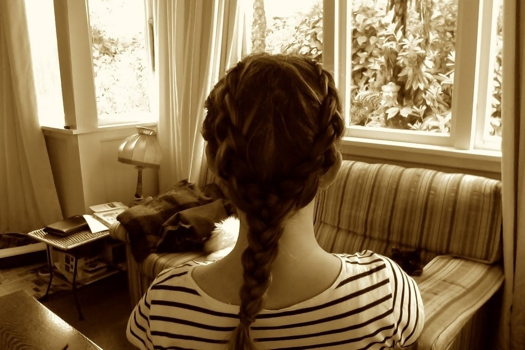 Two Braids Into One [The Y Braid] | Bubbleshair – Youtube With Regard To Two Braids In One Hairstyles (View 18 of 25)