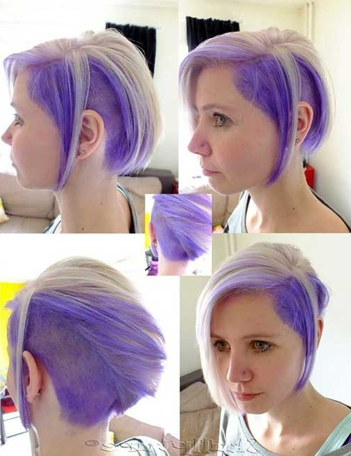 Two Tone Hair Color For Short Hair | Short Hairstyles 2017 – 2018 Intended For Most Up To Date Two Tone Pixie Hairstyles (View 20 of 25)