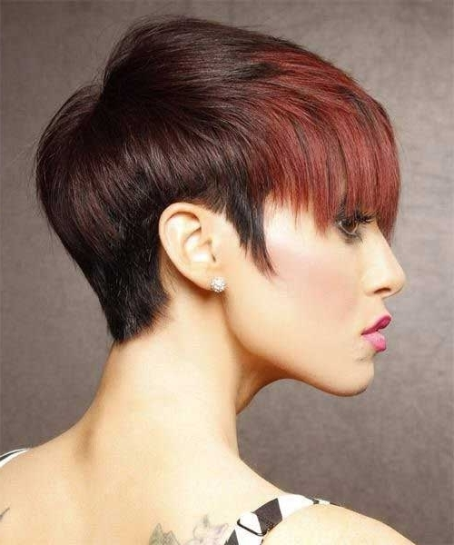Two Tone Hair Color For Short Hair | Short Hairstyles 2017 – 2018 Pertaining To Most Popular Two Tone Pixie Hairstyles (View 3 of 25)
