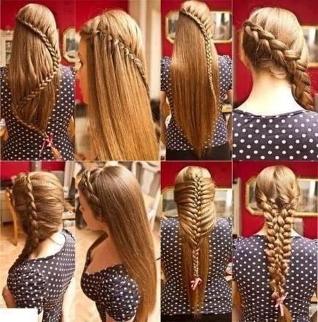 Types Hair: Half French Braid Ponytail Within Half French Braid Ponytail Hairstyles (View 11 of 25)