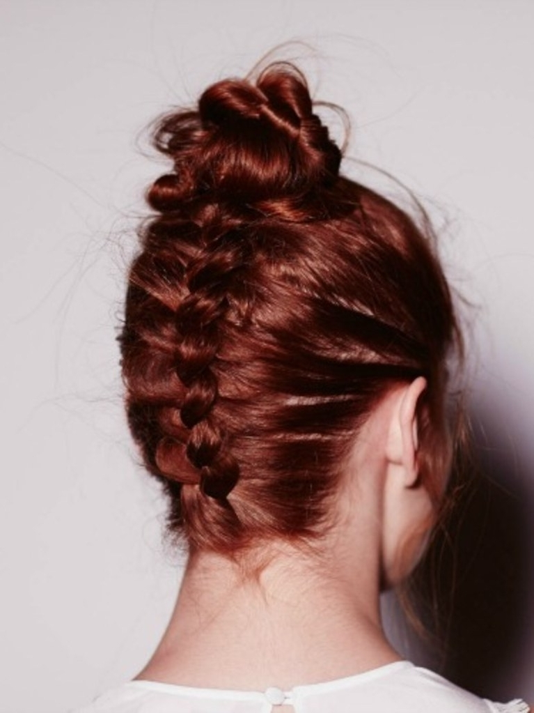 Upside Down French Braid   Allure With Reverse French Braid Ponytail Hairstyles (View 24 of 25)