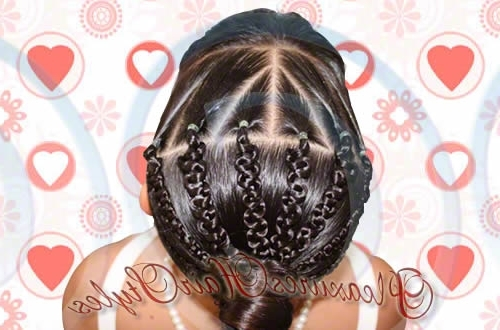 Valentine's Day Hairstyles – Macrame Hairband Throughout Macrame Braid Hairstyles (View 24 of 25)