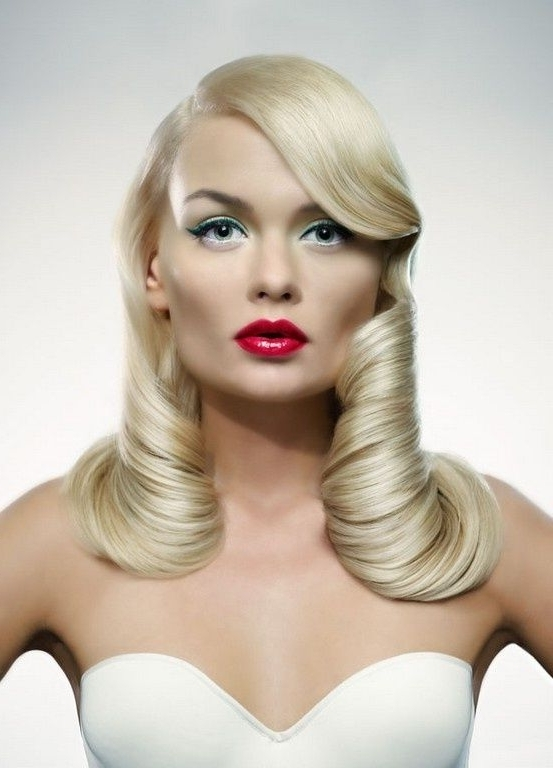 Very Cool Hairstyle | Summer Lovin Blondes | Pinterest | Retro Hair Inside Retro Glam Ponytail Hairstyles (View 10 of 25)