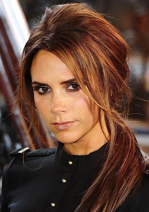 Victoria Beckham's Messy Side Ponytail – Prom, Casual, Party Inside Simple Side Messy Ponytail Hairstyles (View 23 of 25)
