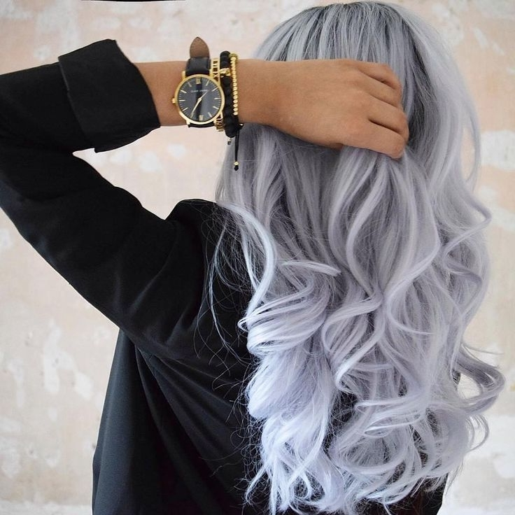 Voluminous Curls ? … | Hair | Pinte… With Regard To Voluminous Platinum And Purple Curls Blonde Hairstyles (View 17 of 25)