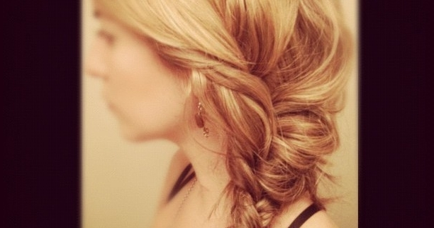 Volumized Messy Fishtail Braid (View 16 of 25)