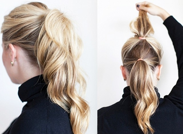 Featured Photo of Double Tied Pony Hairstyles