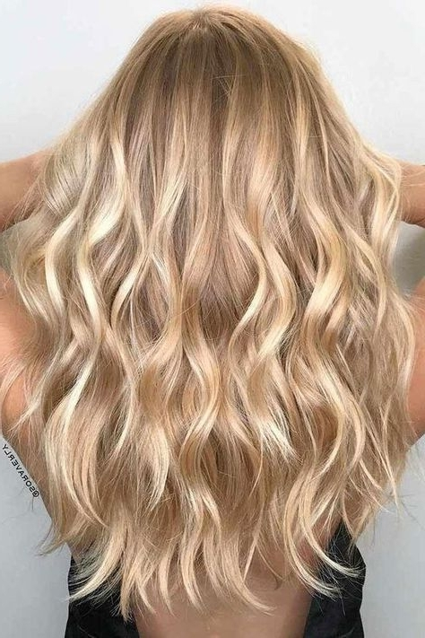 Warm Blonde Hair Shades Perfect For Brightening Your Locks This Within Sunkissed Long Locks Blonde Hairstyles (View 24 of 25)