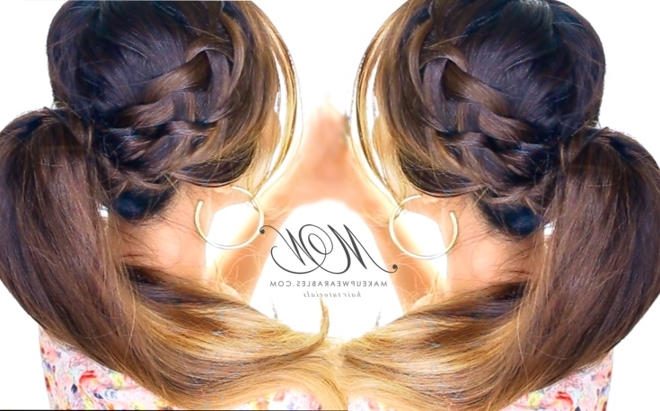 Waterfall Braid Ponytail | Romantic Everyday Hairstyle Inside Cascading Ponytail Hairstyles (View 10 of 25)