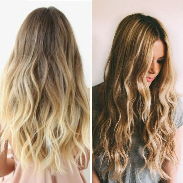 Wavy Hairstyles Vpfashion For Tousled Shoulder Length Ombre Blonde Hairstyles (View 18 of 25)