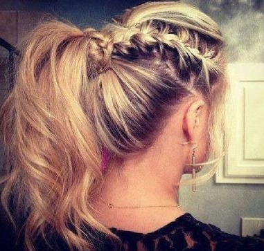 Ways To Wear A Ponytail   Hairstyle Mag With Regard To Side Braided Ponytail Hairstyles (View 22 of 25)