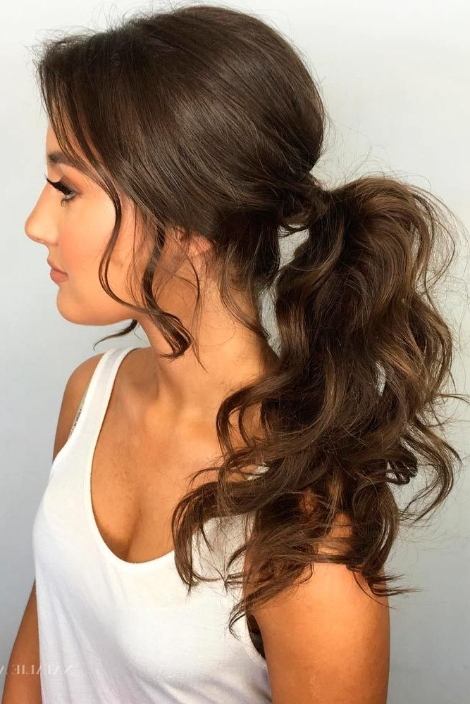 Wear These 36 Sporty Ponytail Hairstyles To The Gym | Hair Goals Inside Classy Flower Studded Pony Hairstyles (View 25 of 25)