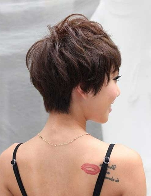 Wedge Hairstyles For Short Hair   Short Hairstyles 2017 – 2018 With Most Recently Pixie Wedge Hairstyles (View 8 of 25)