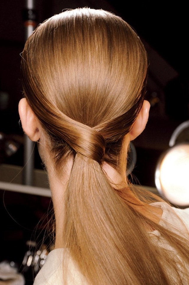 Weekend Hair: The Criss Cross Ponytail | Bellamumma With The Criss Cross Ponytail Hairstyles (View 7 of 25)