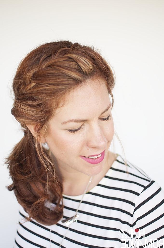 Weekend Style – Braided Ponytail Tutorial – Hair Romance For Side Braided Ponytail Hairstyles (View 25 of 25)